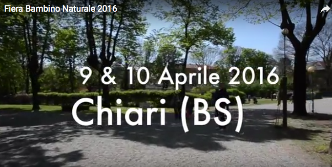 Video – Fiera del bambino Naturale 2016